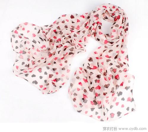 春之韵 花色围巾