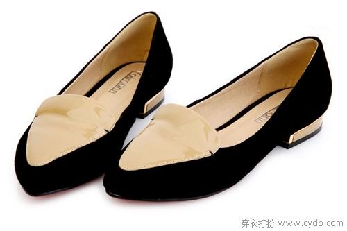 幸福平底单鞋时尚早报