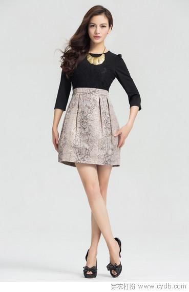 千娇百媚 连衣裙如此美