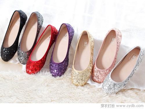 足下也风采 爱上平底鞋