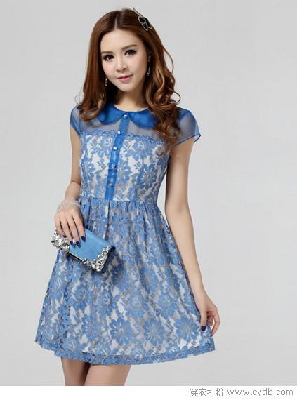 本季流行色,裙裾最懂春的寂寞