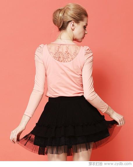 蕾丝女孩长袖打底衫   03 可爱女孩的心里永远藏着一个关于公主的梦想