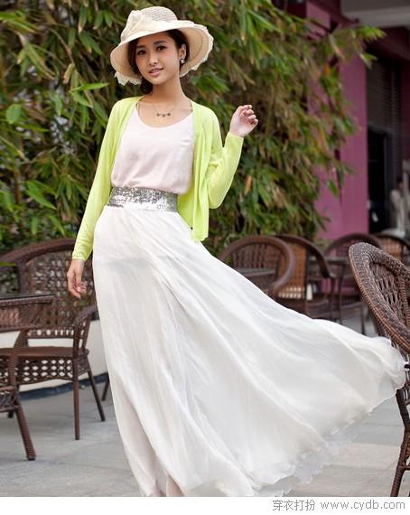 浪漫长裙:怎么穿怎么搭