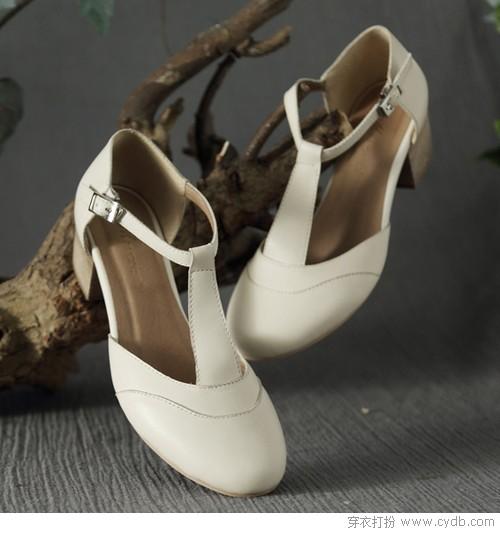 那些复古的小鞋子