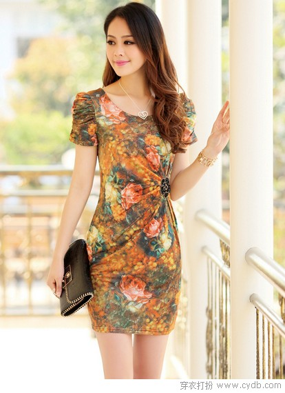 时尚优雅派连衣裙