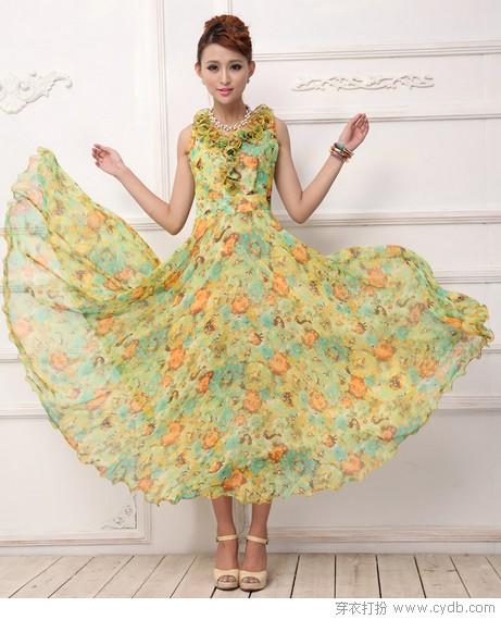 最唯美浪漫是长裙——印花风情