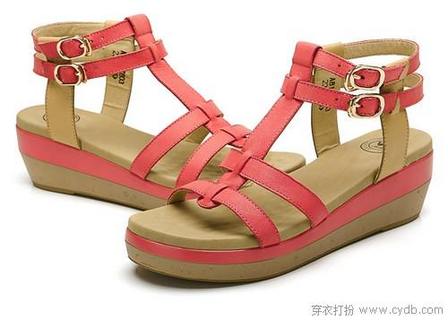 美丽/【穿衣打扮】坡跟凉鞋美丽不累脚