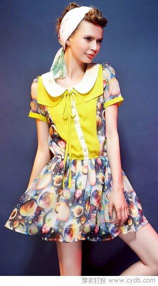 越看越觉养眼的连衣裙