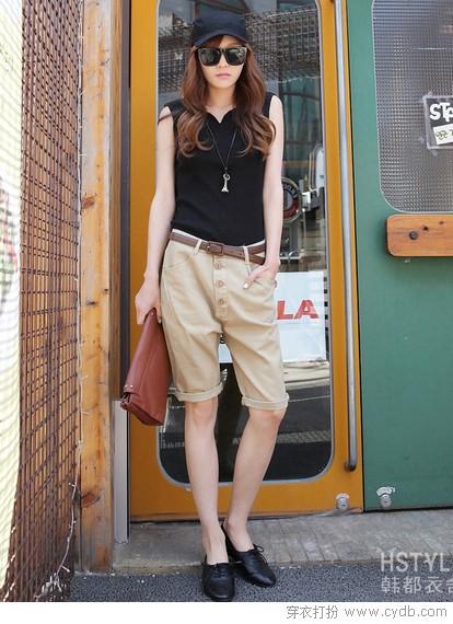 优雅中裤 尽显女人本色