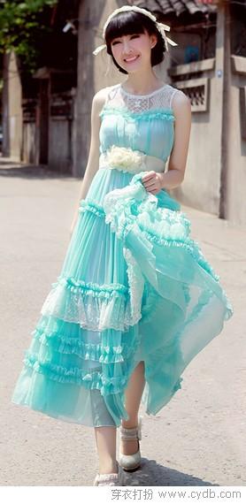 抓准今夏长裙流行趋势