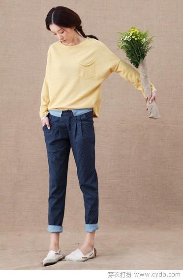 享受哈伦裤的无限包容