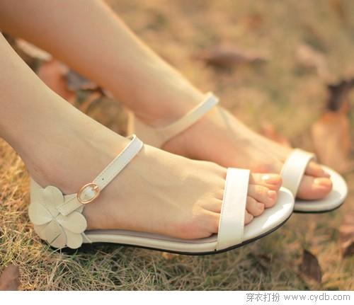 低跟鞋 美腿不费脚