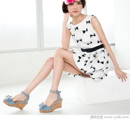 坡跟鞋 美丽也要稳稳的