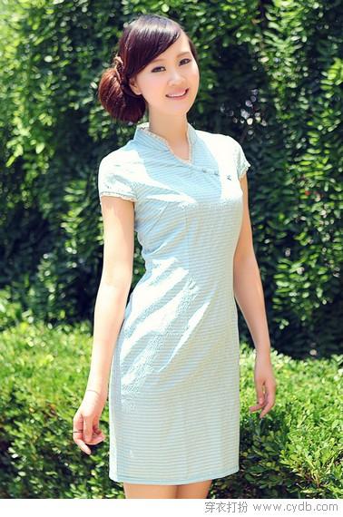 古雅旗袍东方美