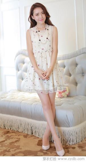 青春微甜 连衣裙的气息