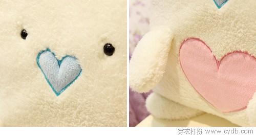 自带超萌的小熊收纳袋,使用毛毯时,可爱的小熊可以当你的暖手袋,小