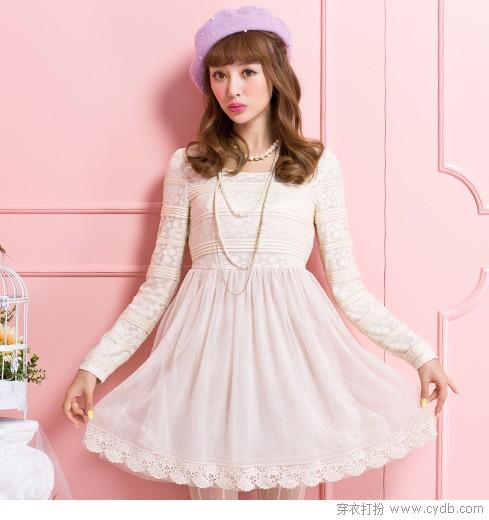 日系美衣,小个女生的可爱穿搭术