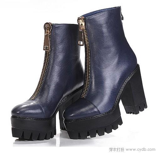 秋天到 职场丽人爱踝靴