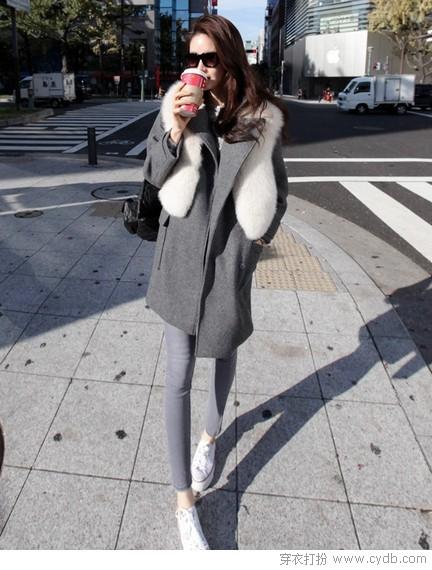 坎肩VS背心裙 瘦瘦的暖暖的
