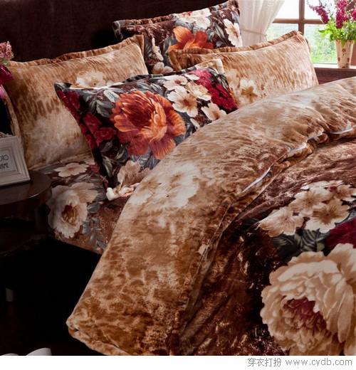 床单被子都加绒 四件套温暖走起