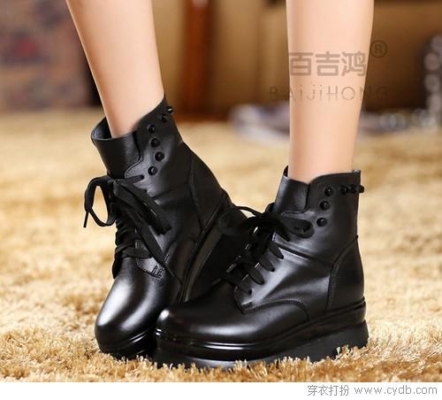 穿好鞋 真皮鞋