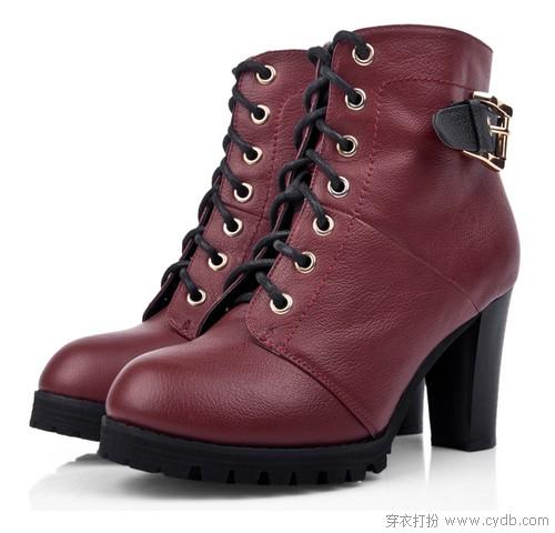 姐姐要买小皮鞋 轻熟真皮款