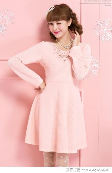 粉红色可以穿到30岁