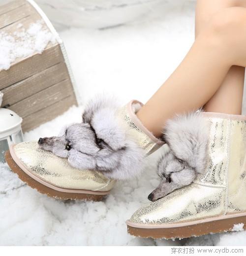 暖从足起 雪地靴的新花样