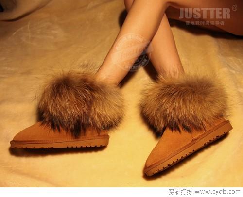 穿上就离不开的雪地靴