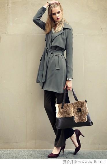 柔软皮草包 时尚奢华大气