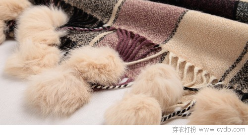 高质感围巾 给冬天一点颜色