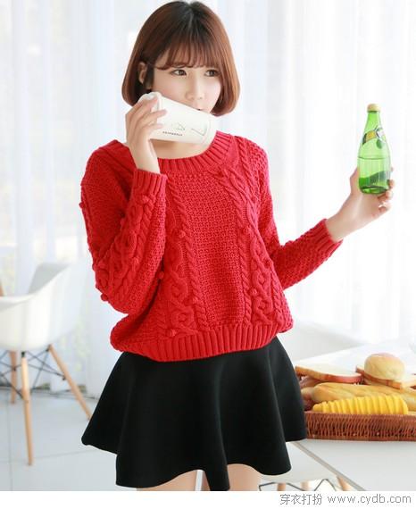 穿对红色过新年