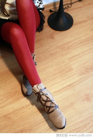 选双短靴彻底迈入新年吧