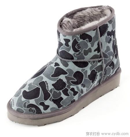 可萌可御 绵绵软软雪地靴