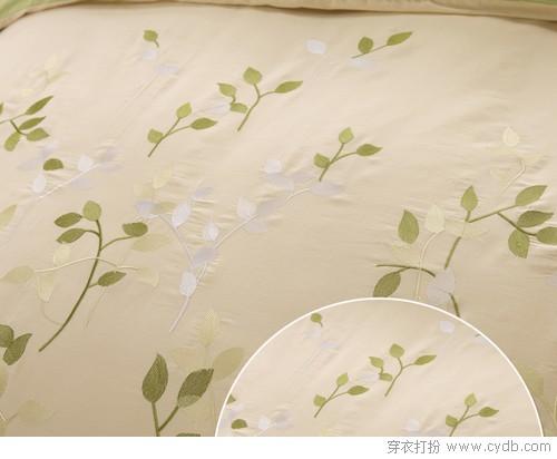 击这里购买--小清新纯棉绣花四件套 ←-让加厚床单助你暖暖入梦乡图片