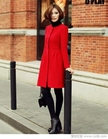 年关将至红色的服饰最讨喜