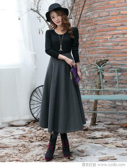 半身裙的演绎法 - 穿衣打扮