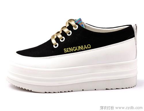 酷潮松糕鞋 让行走更轻松