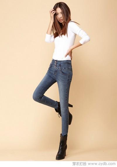 穿搭显高术:巧收腰搭长裤