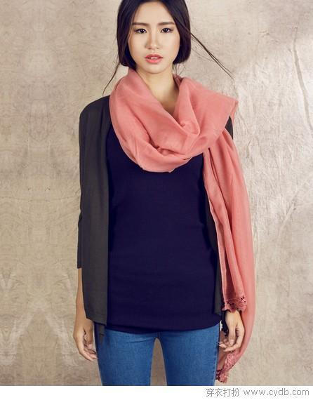 丝巾:无配饰不时尚