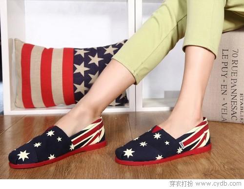 帆布鞋 走自己的路