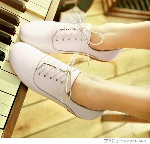 邂逅小白鞋