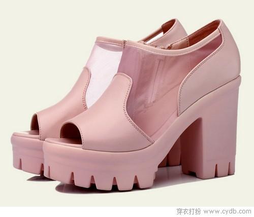 夏款单鞋抢鲜看:热门元素大合集