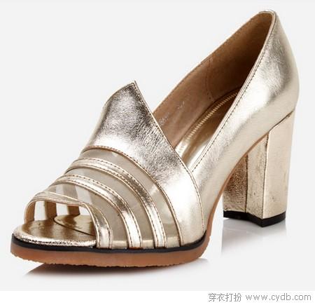 粗跟鞋 稳重且有女人味