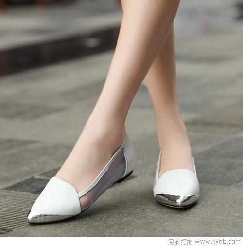 平底鞋舒适无底限曼妙亦多姿