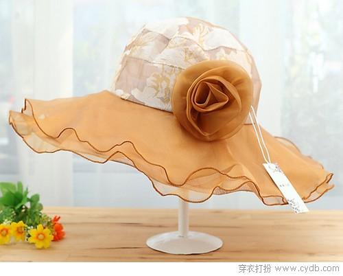 帽子也要美美的