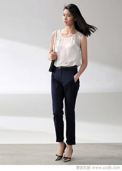 职场长裤造型 彰显卓越品位