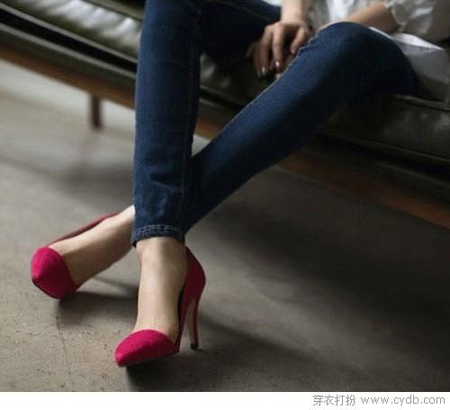 高跟鞋虐我千百遍 我待它如初恋