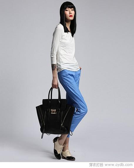 裤长少一分 造型拿满分