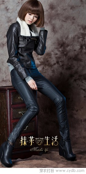 型格至上最皮裤